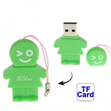 Карт-ридер USB 2.0 T-Flash /Micro SD Мульти