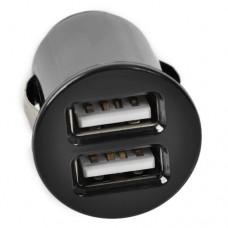 Автомобильное зарядное устройство 2xUSB micro