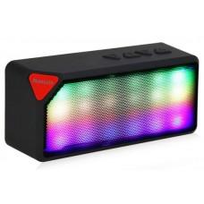 Колонка Bluetooth с подсветкой UBS-03 TF, USB для смартфона, планшета, MP3-плеера.