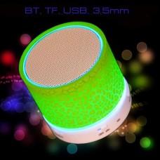 Колонка Bluetooth с подсветкой UBS9 TF, USB для смартфона, планшета, MP3-плеера.