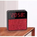 Колонка Bluetooth UBS-211 LED CLOCK с будильником.