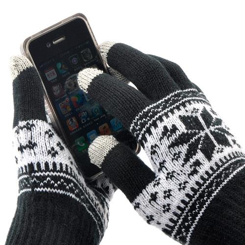 Универсальные перчатки для работы с емкостным сенсором на вашем планшете или смартфоне