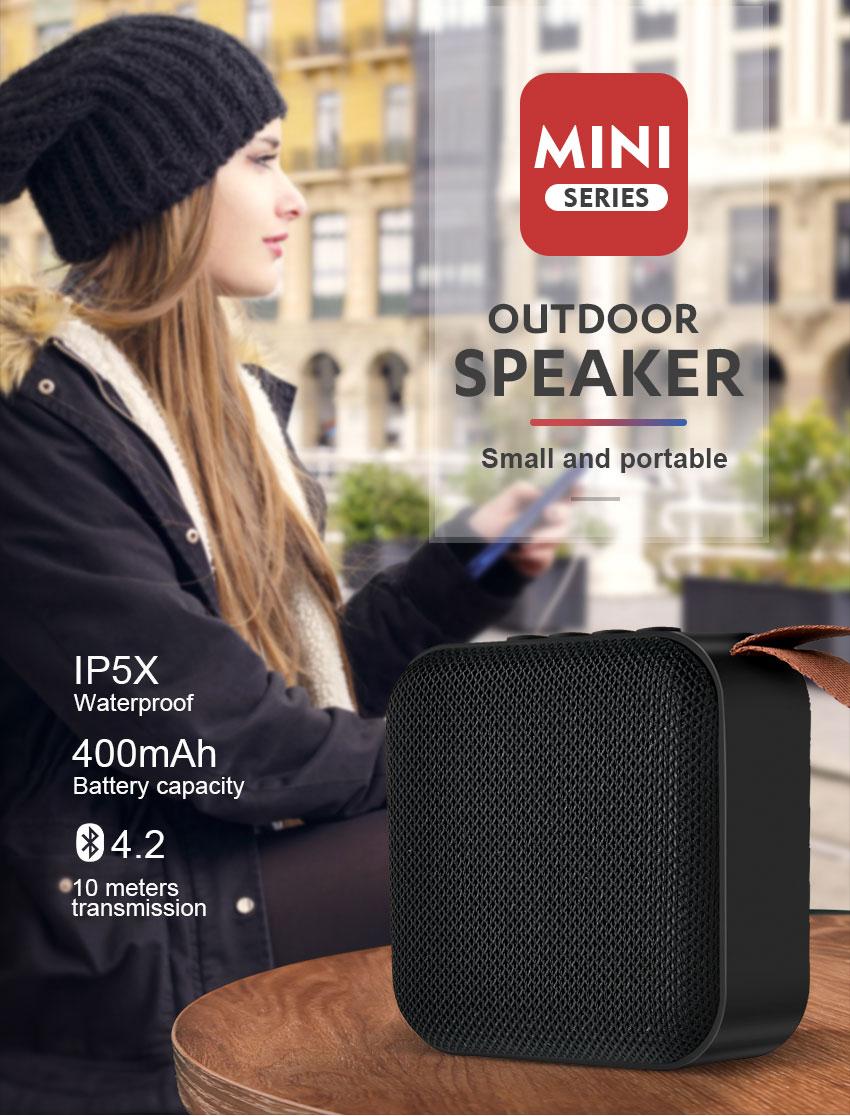 Мини-Колонка Bluetooth UBS-255 SuperBass