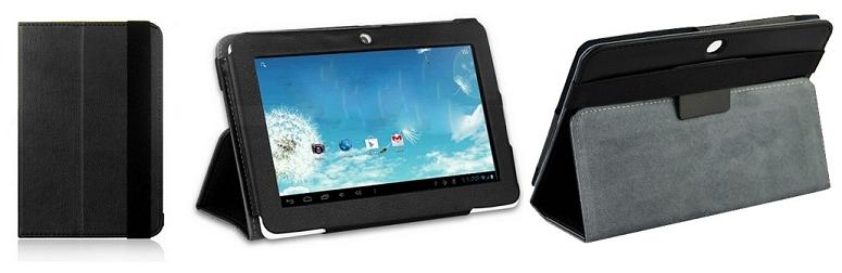 Оригинальный чехол для планшета Планшет BRAVIS NP71 DualCore, Verico UNI PAD CM-USP03A-D Black (CM-USP03A-D), 7