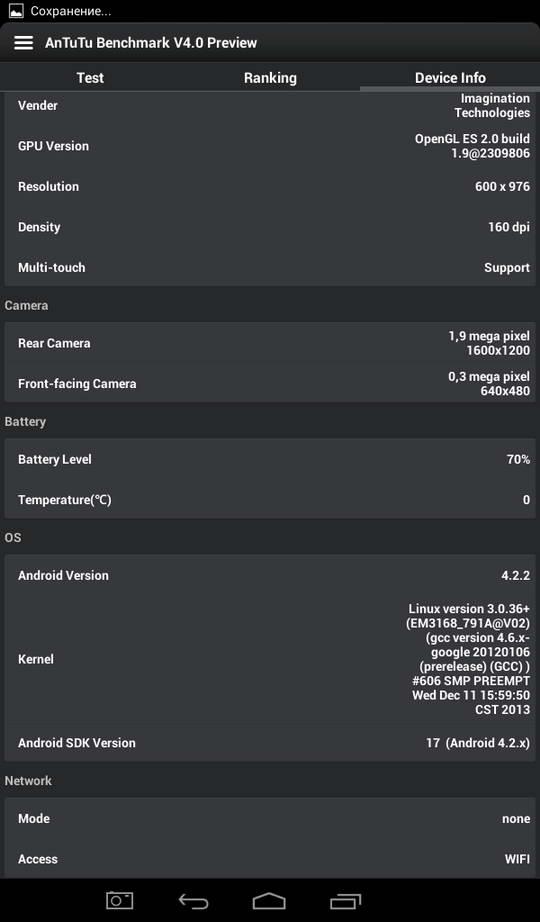 Планшет Luxpad 5715 Характеристики, Фото, Обзор, Тестирование Antutu 4.0