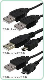 Кабель USB, miniUSB, microUSB для поклюючения планшетов LuxP@d