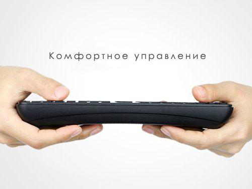 Пульт ДУ для Android - планшетов и плееров. Отлично подходит для управления интернет-планшетом, смартфоном (типа Nokia N8), цифровой камеры, видеокамеры HDTV-приставки, или других устройств к телевизору, монитору, прочим устройствам видеопотока с HDMI. поддержки самых высоких разрешений экрана. 1080р