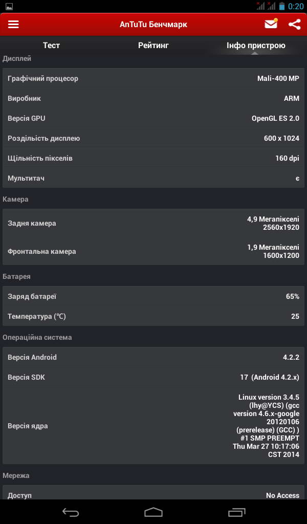 Планшет Luxpad 6718 Характеристики, Фото, Обзор, Тестирование Antutu 4.0